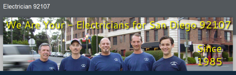 Quality C10 Electricians & Electrical Contractors for 92107